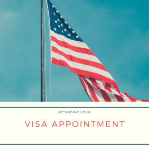 us visa appointment attending the interview