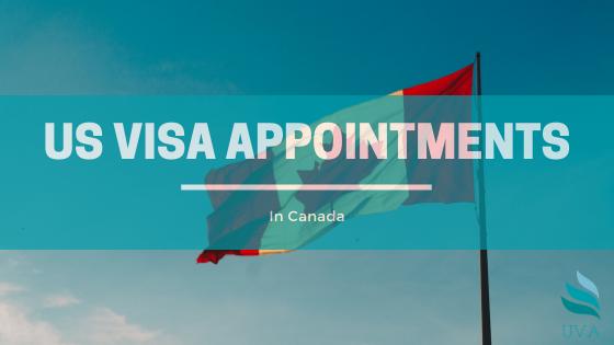 us visa appointment Toronto